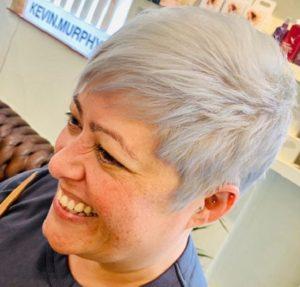 hair colour change Q Hairdressing Salon West Malling Kent
