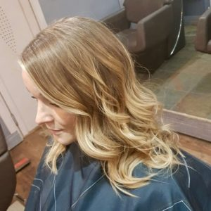 warm balayage best hairdressers in west malling kent