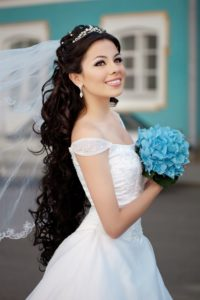 wedding hairstyles with hair extensions, West Malling hairdressers