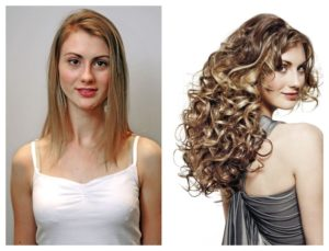 hair extensihair extensions, Q Hairdressing Salon, West Malling, Kentons before after 2